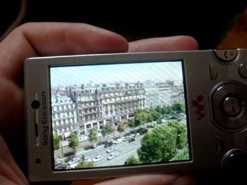 Le test vidéo du Sony Ericsson W995