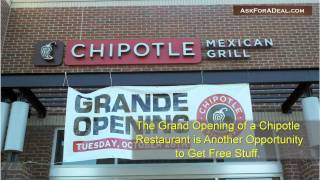 Chipotle Coupons(Learn guitar chords for FREE through our new game Chord Master: http://bit.ly/ChordMasterYT Ask Chipotle for a deal: http://askforadeal.com Ask For a Deal ..., 2011-01-19T23:05:24.000Z)
