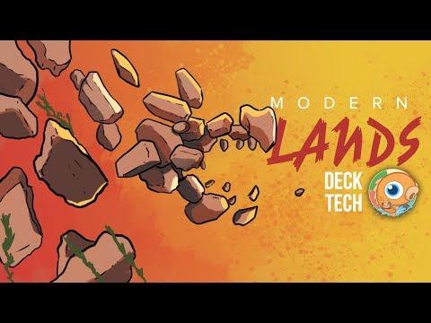 Instant Deck Tech: Modern Lands (Modern)