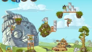 Angry Birds Star Wars 2 Level B3-18 Battle of Naboo Highscore Strategy
