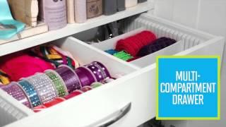 Inspira Studio™ By Closetmaid® 3-drawer Supply Cabinet