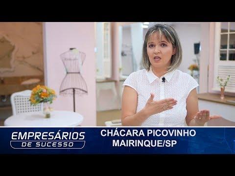 CHÁCARA PICOVINHO, MAIRINQUE/SP, EMPRESÁRIOS DE SUCESSO TV