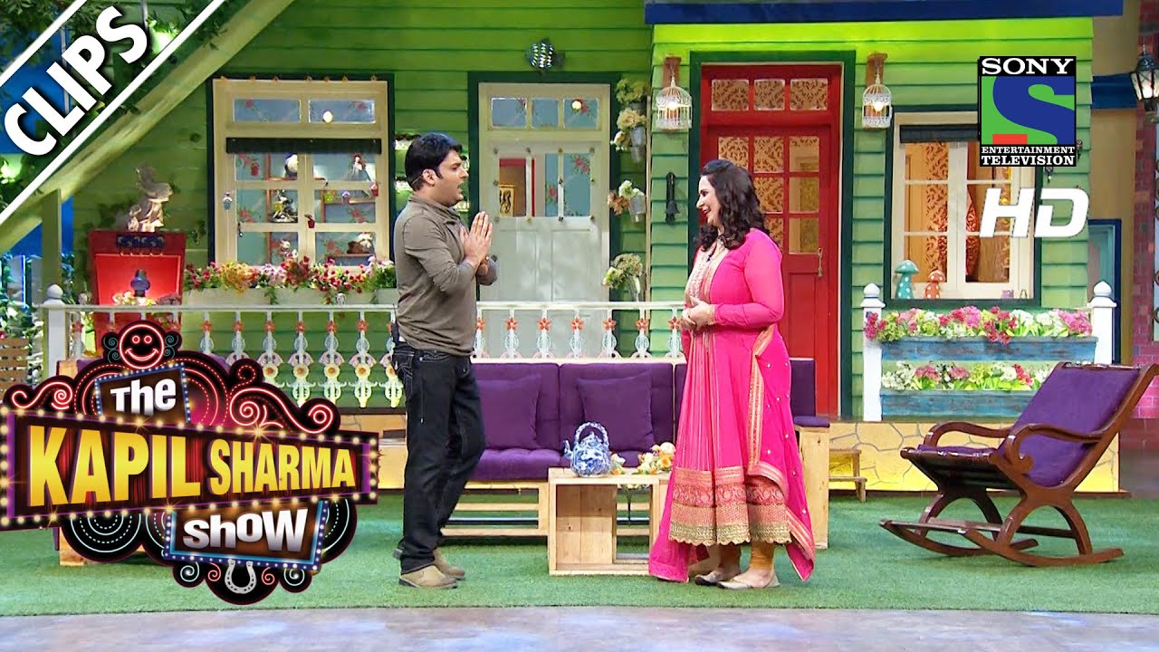Kapil welcomes Navjot Kaur Sidhu to the show - The Kapil Sharma Show -Episode 21 - 2nd July 2016 #1