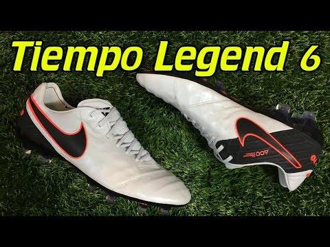 Nike Tiempo Legend 6 Pure Platinum/Black/Hyper Orange - Review + On Feet