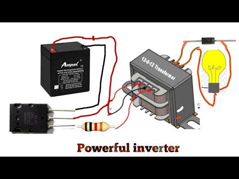 Transistor 5200 inverter,12 volt to 220 volt inverter ...
