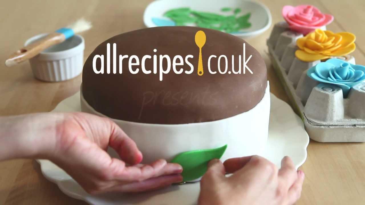 How to make fondant icing video - Allrecipes.co.uk