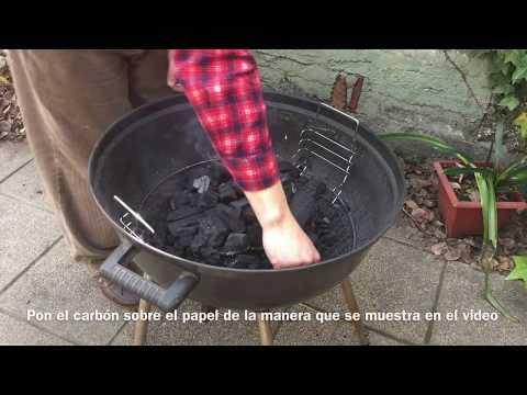 Cómo hacer el fuego para un asado