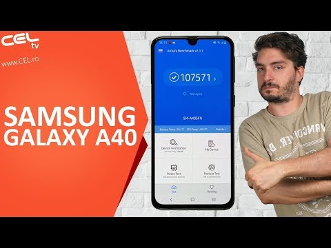 Samsung Galaxy A40 | Un telefon compact bun la toate | Unboxing & Review CEL.ro