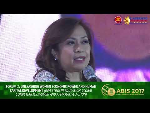 Unleashing Women Economic Power and Human Capital Development   Forum 2   ABIS 2017
