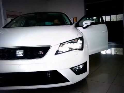 2013 seat leon full led youtube for Seat leon led verlichting