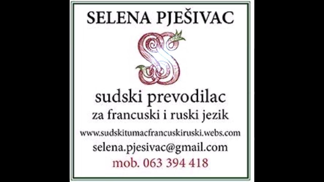 Sudski Tumač Za Ruski I Francuski Beograd Voždovac