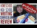 Write Shop I Review- Homeschool High School English Composition Curriculum