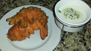 Deep Fried Lobster Tail