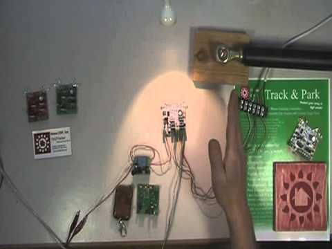 Track'n Park Solar Tracker Bench Demo