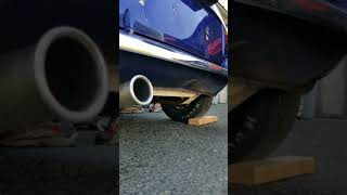 Promotive Yamaha 5pw  Mini Cooper exhaust notes thru a RC40 exhaust