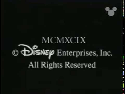 Evolution /Disney Channel ( In association With)/Disney Copyright Notice/ B.V.I, Inc. (1999) #2