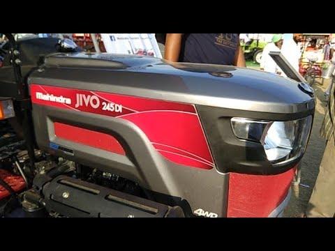 Mahindra Jivo 245 DI 4WD tractor looks like Mini Cooper Car ।