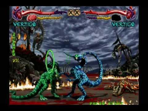 Primal Rage Arcade Ver. 2.3 :Vertigo Final Battle - YouTube
