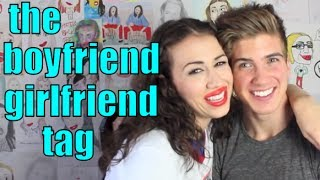 THE BOYFRIEND TAG | Joey Graceffa & Miranda!
