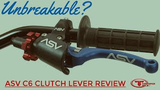 Reviewed ASV C6 Series Pro Clutch Lever