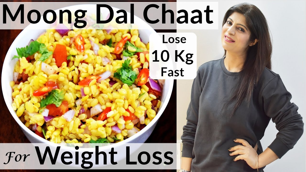 Moong Dal Chaat For Weight Loss | Healthy Chaat Recipe | Healthy Snacks Recipe | Dr.Shikha Singh