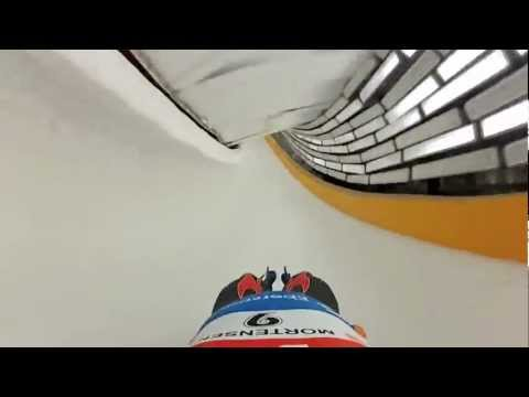 Luge Olympian Matt Mortensen Takes GoPro On His Run And It's Awesome (VIDEO)