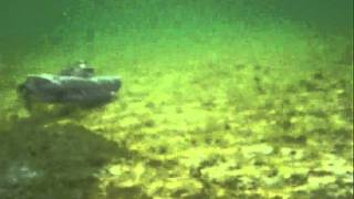 U-boat (U-boot)  XXVII Seehund midget submarine in RC action