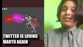 Twitter Is Loving The Marth Buffs! Crazy  Clips [ Super Smash Bros Ultimate ] Marth Is Busted 8.0.0