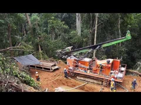 Mintec 12.8 Mineral Exploration Rig in Indonesia