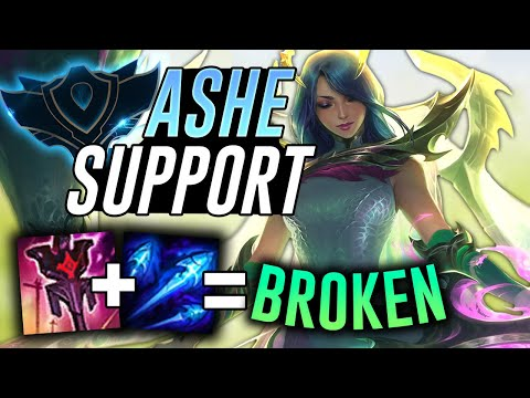 DOES IMPERIAL MANDATE ASHE SUPPORT WORK IN RANKED?! Final Placement Game! – League of Legends