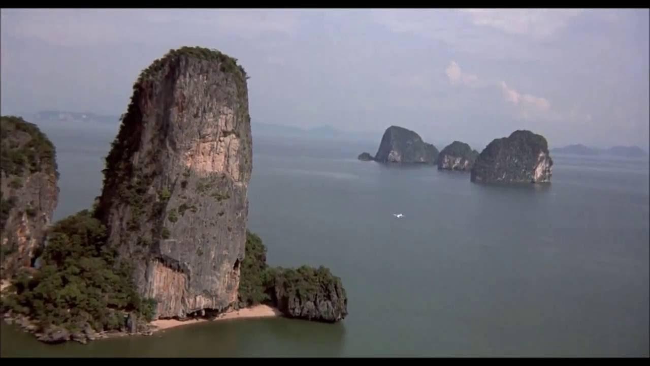 James Bond Island In Thailand The Man With The Golden Gun Youtube