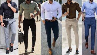 Zapętlaj Latest Formal Shirt Pant Fashion 2019   Best Formal Style 2019   Mens Shirt Pant Formal Lookbook   MEN\'S FASHION AND STYLE