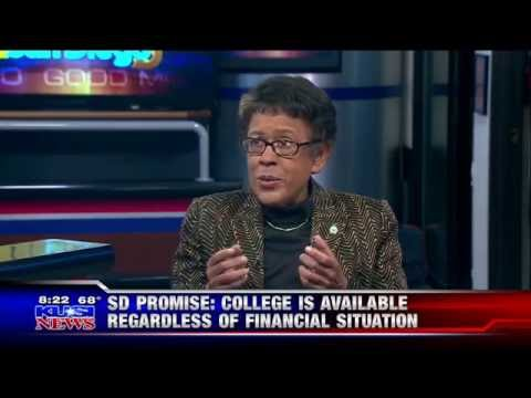 KUSI-SD: Dr. Constance Carroll Promotes Upcoming SDCCD Semester, SD Promise