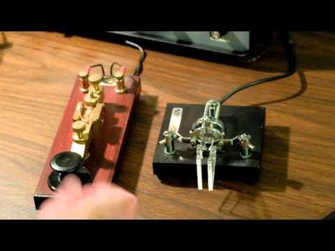 Beginning Learning Morse Code -- Straight Key Vs Paddle