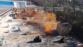 Power Ops - Airsoft Alamo Game 1/28/2017 Drone Footage