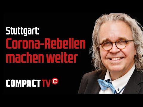 Stuttgart: Corona-Rebellen machen weiter