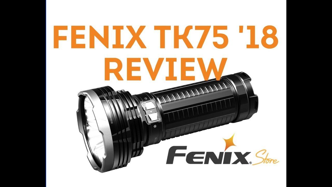 Fenix TK75 LED Flashlight Review!