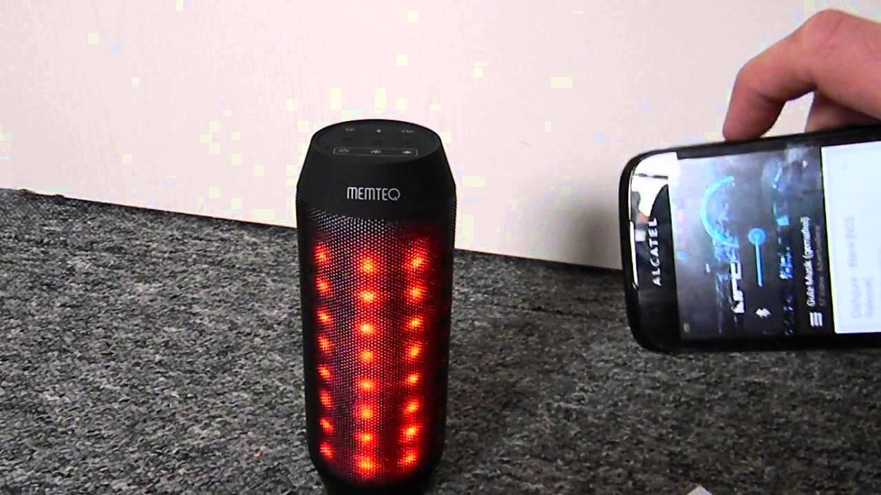 Led Disko Lautsprecher Bluetooth Fm Radio Sd Mp3 Player Aux In