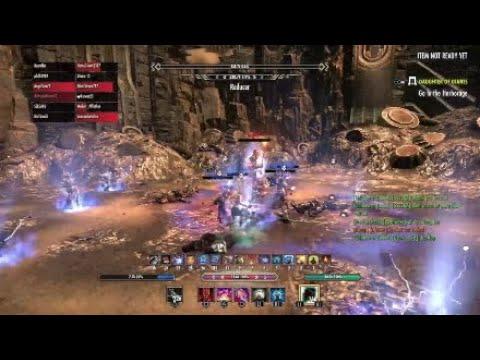ESO [PUGS] VHOF Triplets Clutch Solo Execute - Magicka Nightblade POV