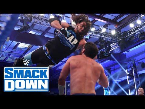 AJ Styles vs. Drew Gulak – Intercontinental Championship Match: SmackDown, July 3, 2020