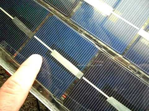 No Solder Solar Cell Panel Easy Amp Cheap Youtube