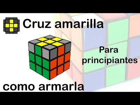 Como Armar Cruz Amarilla Más Facil Cubo Rubik 3x3 Y Bajar Tiempos Youtube