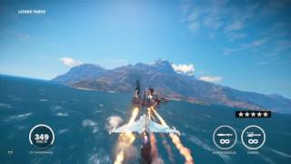 Just Cause 3 destroying a oil base
