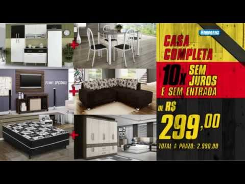 Limpa estoque marabraz casa completa youtube for Amueblar casa completa