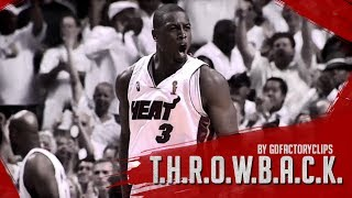 Throwback: Dwyane Wade 2006 Finals MVP Full Highlights vs Mavericks