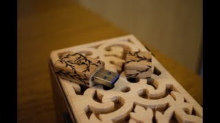 Making Wooden Usb | Woodworking Project | Scroll Saw Project