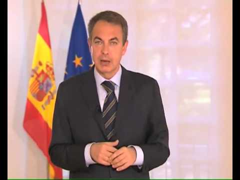 Message from José Zapatero to the European Socialists