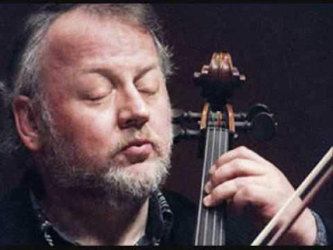Heinrich Schiff Bach Cello Suite No. 6 - Courante
