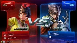 TEKKEN 7 4/28 Josie Play - Online Battle (철권7 죠시)