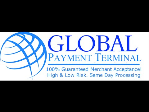 Credit Card Processing - Global Payment Terminal